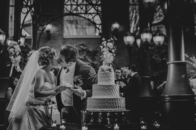 Los besos más románticos