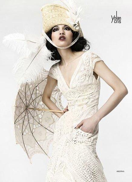 Bruidsjurk Yolan Chris, Collectie Lumière, model Arizona