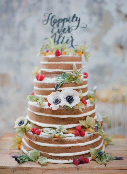 Flores, frutas y muchos colores en tu naked cake - Foto Marta Locklear