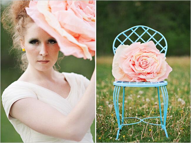 La fantasía del color en una boda hermosa al aire libre - Foto Mikki Platt