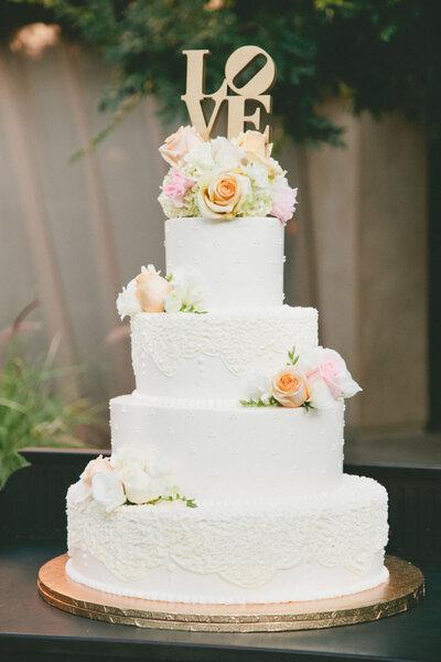 Tarta de bodas.