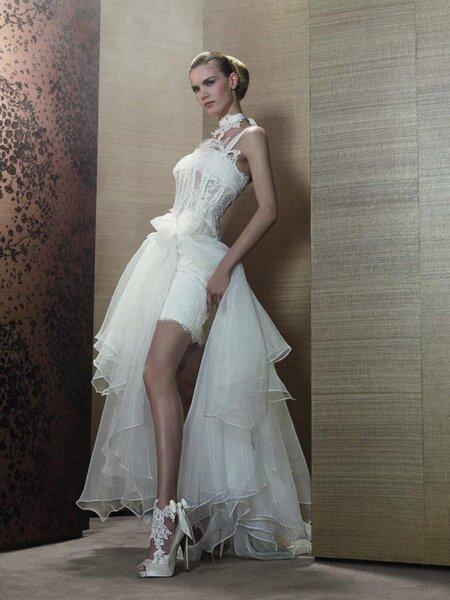 Robes de mariée courtes Pronuptia 2013