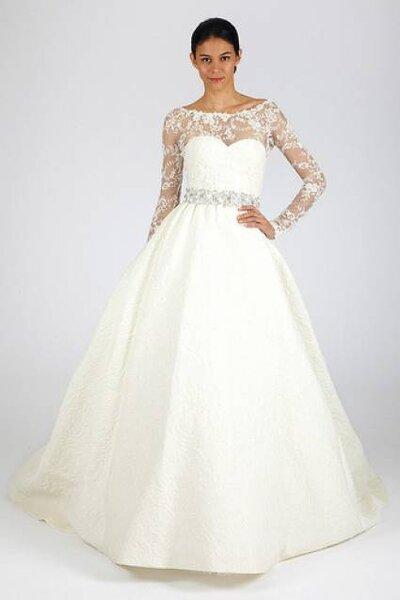 Vestido de noiva coleção Outono 2013 de Oscar de la Renta. Foto: Oscar de la Renta