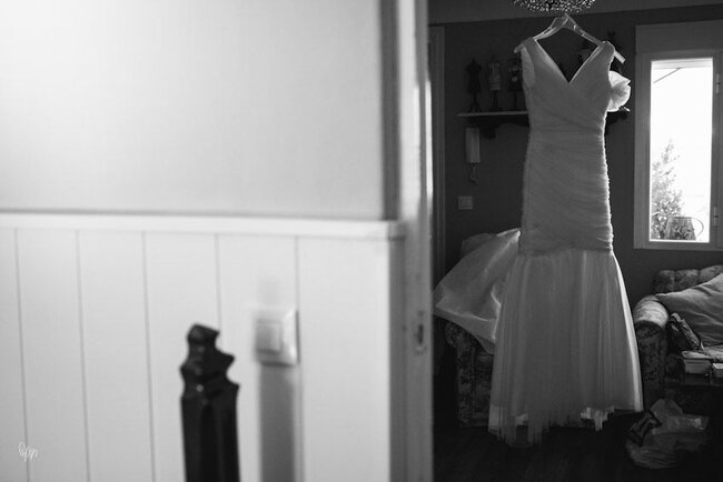 Kurzes Brautkleid – Foto: Nano Gallego