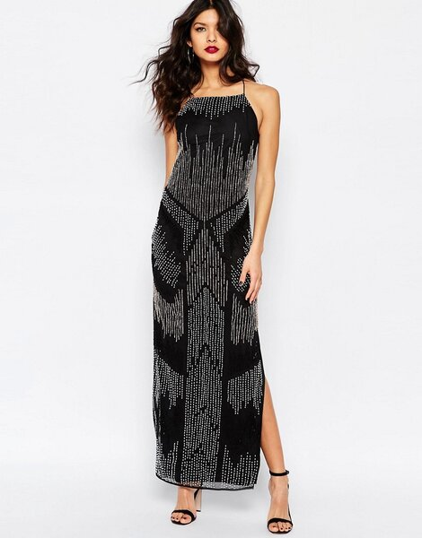 Dresses For Wedding Guest River Island : Black party dresses for the chic wedding guest