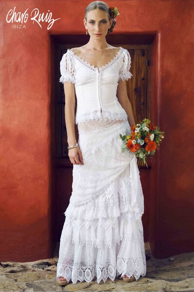 Vestido de noiva Charo Ruiz. Foto: Charo Ruiz