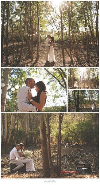 Romántica sesión de fotos de Diana e Isaac
