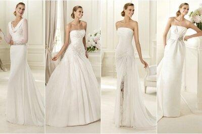 Desejosa de saber os preços dos vestidos de noiva Pronovias 2013? Nós já sabemos!