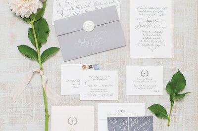 Entrevista exclusiva: ¿Cómo diseñar las invitaciones de boda más originales?