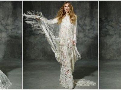 Verlieben Sie sich in die geniale Brautmode von YolanCris und feiern Sie eine bezaubernde Hochzeit!