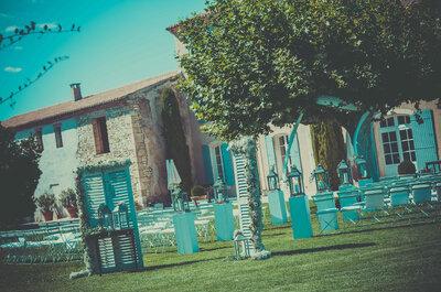 Elodie & John : sublime mariage sous le soleil de Provence