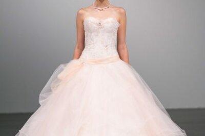 Collezioni sposa 2014: una selezione di abiti da sposa rosa cipria