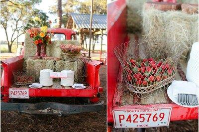 Diseña tu boda rústica en el campo: Contraste de colores, espacios naturales y belleza que hipnotiza... ¡Así será tu día