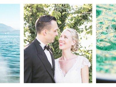 Zauberhafte Details bei der Hochzeit von Sara & Thomas am Zugersee!