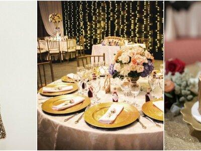 Apuesta por el color dorado en tu boda: ¡Quiero un matrimonio lujoso y elegante!
