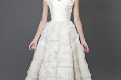 Elegante colección de vestidos de novia otoño 2013 Heidi Elnora