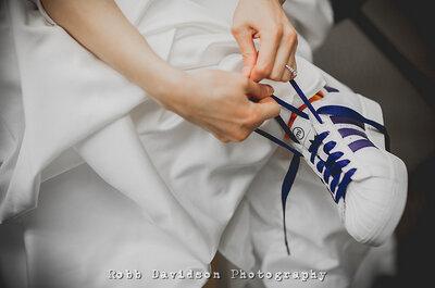 Vou casar... com ténis!
