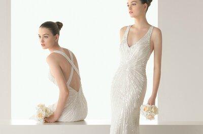 Traumhafte Brautkleider in der Kollektion Soft 2015 von Rosa Clará!