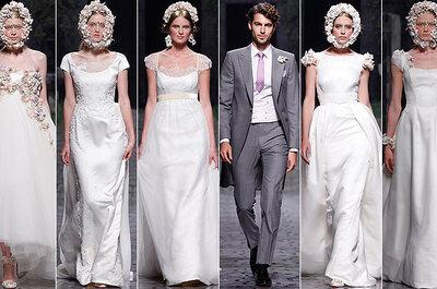 Victorio & Lucchino Collezione 2013 per una sposa sospesa tra modernità e Rinascimento