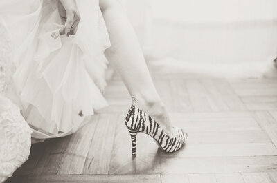 Imprimé panthère, léopard ou zèbre : top tendance chez les mariées 2013