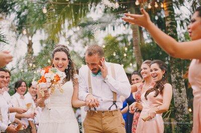 Danielly & Eloir: Sunset Wedding DIY rústico e MEGA romântico em Santa Catarina