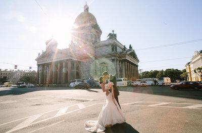 Петербургская свадьба Марины и Глеба