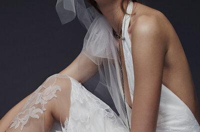 Vestidos de noiva Vera Wang coleção Outono Inverno 2015: o novo romântico