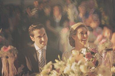 Una real wedding con Yo no te pido la luna