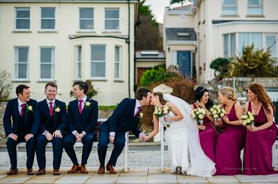 Real Wedding: A Classic Wedding in an Historical Celtic Castle
