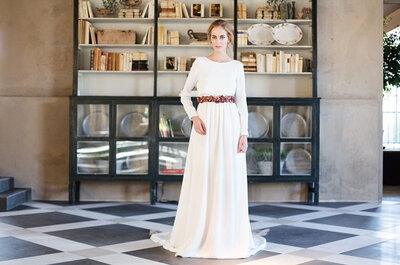 Trends in Belted Wedding Dresses for 2015