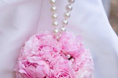 Blumen für die Hochzeit: Inspiration Pfingstrosen!