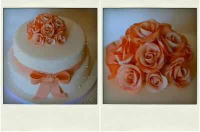 Bolos de noiva made in PT: uma amostra do trabalho by Tea Bakes