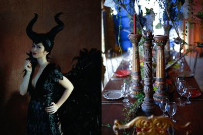 Tu boda inspirada en Maléfica: Después de ver esta sesión de fotos querrás ser una villana