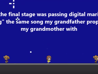 Here's How to Propose in the 21st Century: with a home-made video game about your relationship