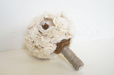 Drewniane bukiety ślubne (balsa)