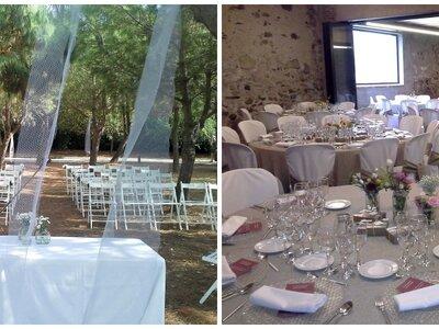 Disfruta de un lugar centenario y versátil para una boda de diez en El Mas Groc