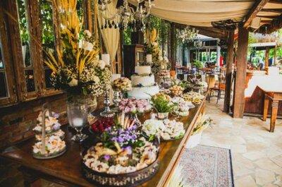 Flores silvestres para una boda llena de alegría