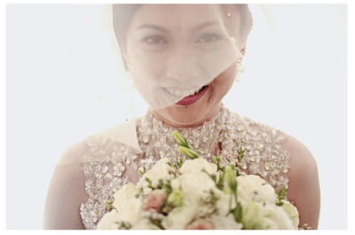 Real Wedding: Una boda en blanco que te dejará boquiabierta ¡de principio a fin!