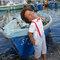 Garçon avec Bermuda Paul gris de Les Petits Incanssables.