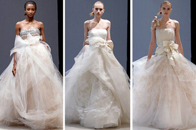 Beautiful Details in Vera Wang Winter 2012 Bridal Collection
