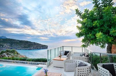 ¡Cásate en Mallorca sobre un acantilado en Jumeirah Port Soller Hotel & Spa!