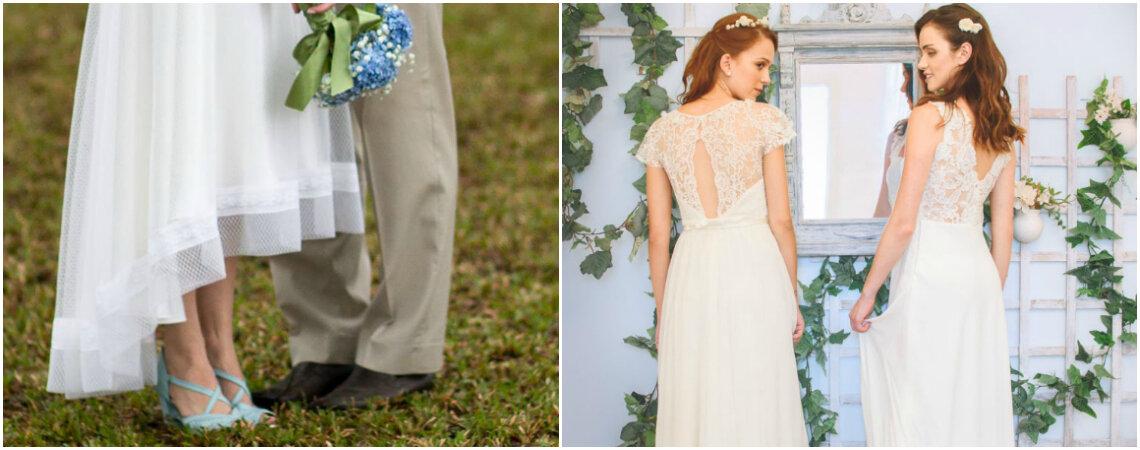 Como se faz um vestido de noiva sob medida? As estilistas respondem!