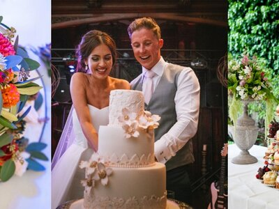 Top tips to consider when tasting and choosing your perfect wedding cake