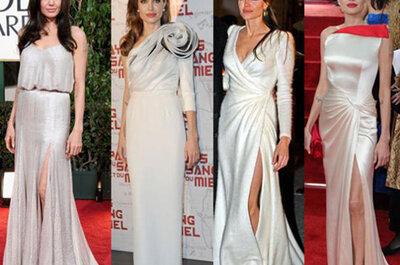 Angelina Jolie Wedding Dress Unveiled: Actress Rumored to Wed in L'Wren Scott