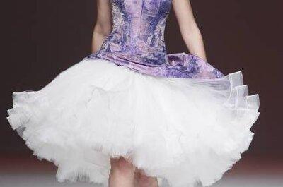 Vestidos de noiva Jordi Dalmau 2013: onde a cor branca é novidade