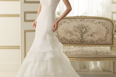 Suknie ślubne 2014: kolekcja Luna Nnovias