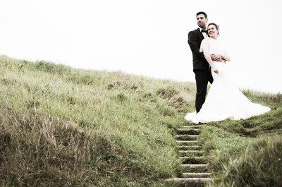 Céline et Damien : Un mariage sur le thème du voyage au bord de l'eau à Erquy