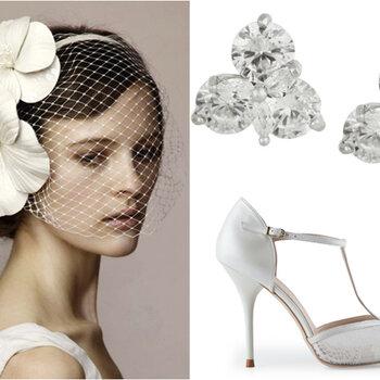 Vestidos de noiva e acessórios com estilo anos 50 em alta para seu look!