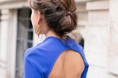 Peinados de invitadas que también funcionan en novias: apuesta por la última moda