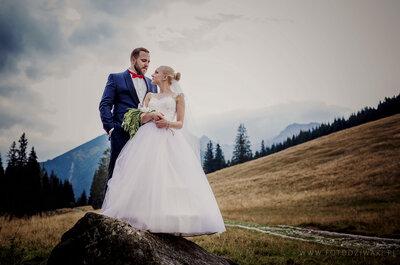 Sesja ślubna w Tatrach z pietruszkowym bukietem, owcami i obłędną jakością fotografii! Nie przegap!